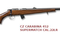 CZ 452 Supermatch 22lr